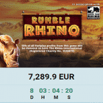 Save the Rhino with Magical Spin Casino