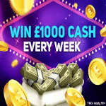 Win £1000 cash – every week at Magical Vegas