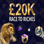 Race To Riches: £20,000 from Magical Vegas