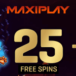25 Free Spins & 200% up to $/€/£50 Welcome Bonus from MaxiPlay