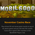 November Casino Race – Mobil6000 Boulevard