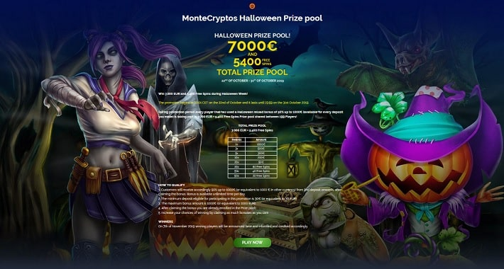 MonteCryptos Casino Promotion
