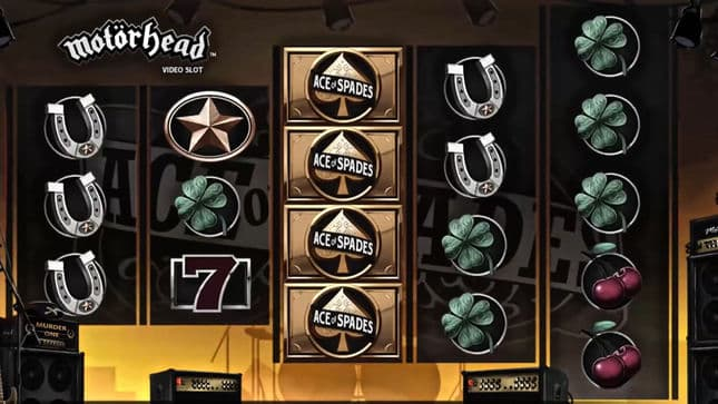 Motörhead Video Slot from NetEnt