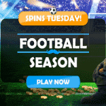 Tuesday Spins during Footbal Season at Mr Play