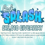 Cash Splash: £15,010 Giveaway by mRiches