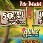 50 Free Spins sign up + 100% Welcome Bonus $200 by Mr Mobi Casino