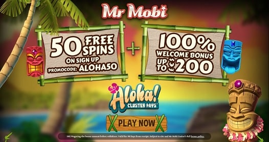 Mr Mobi Casino bonus & free spins
