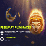 Four February Rush Races with NightRush