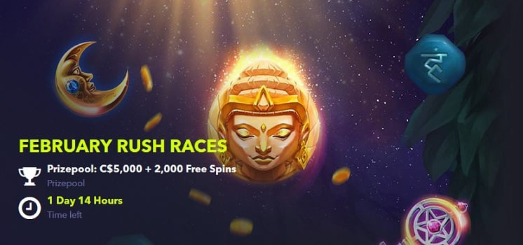 NightRush Casino Promotion