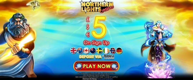 Northern Lights Casino bonus
