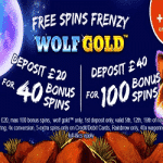 40 & 100 Bonus Spins from Planet Fruity
