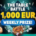 PlayAmo – The Table Battle: €1,000 Weekly Prize