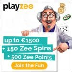 PlayZee Casino Bonus And  Review  Promotions