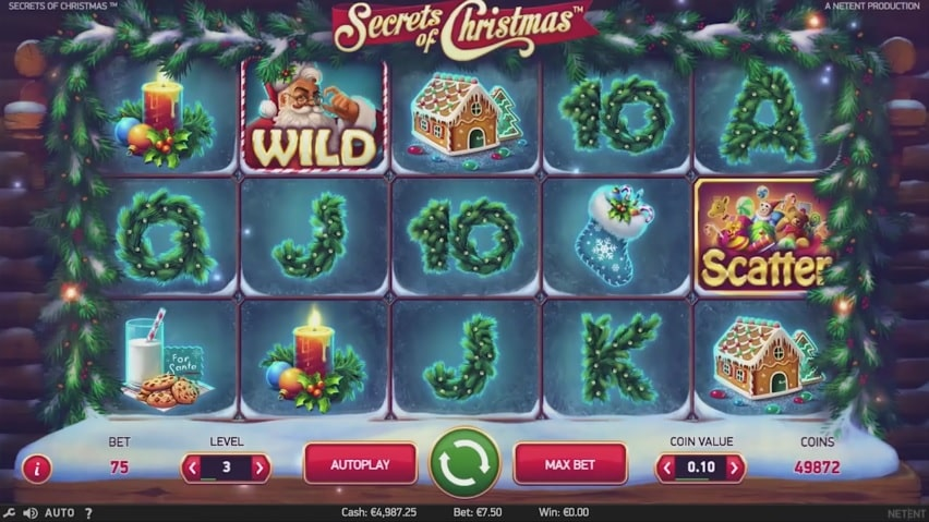 Secrets of Christmas Video Slot from NetEnt
