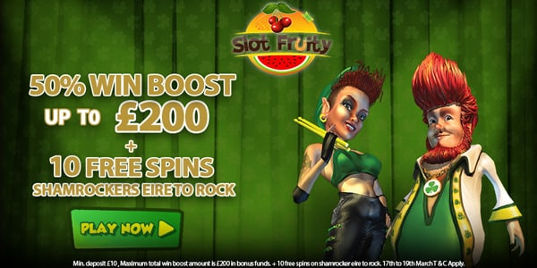 Slot Fruity promotion