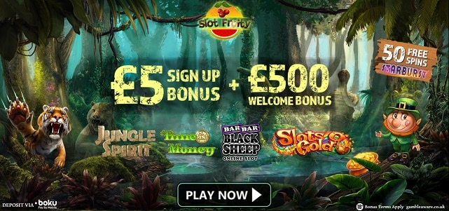 Slot Fruity Casino bonus