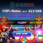 100 Free Spins at the slotobank online casino