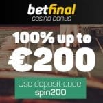 Betfinal Casino Bonus And Review News