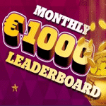 Monthly €1000 Leaderboard at casino Spinaru