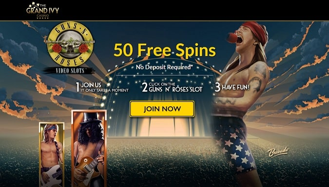 The Grand Ivy free spins