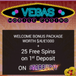 55 Free Spins made Vegas Mobile Casino