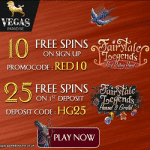 35 Free Spins from the Vegas Paradise casino
