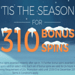 310 Bonus Spins - this December at Winstar